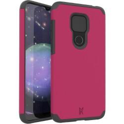 MetKase Original ShockProof Case For Motorola Moto G Play 2021 - Virtual Pink