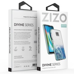 ZIZO DIVINE SERIES MOTO G POWER (2021) CASE - ARCTIC