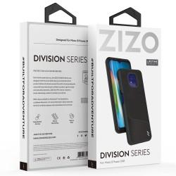 ZIZO DIVISION SERIES MOTO G POWER (2021) CASE - NYLON BLACK