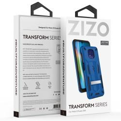 ZIZO TRANSFORM SERIES MOTO G POWER (2021) CASE - BLBK