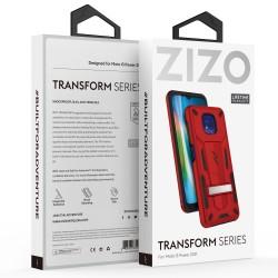 ZIZO TRANSFORM SERIES MOTO G POWER (2021) CASE - RDBK
