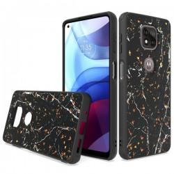 Chrome Glitter Glitter Case for Motorola Moto G Power 2021 - Design #5