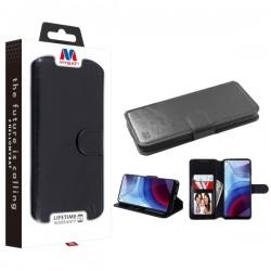 MyBat MyJacket Wallet Element Series for Motorola Moto G Power (2021) - Black