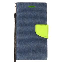 Demin Fabric Wallet for MOTOROLA G6 PLAY