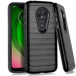 Brushed Case 3 Black For Motorola G7 play