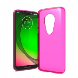 TPU case, Hot Pink For Moto G7 play