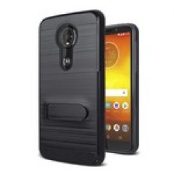 Brushed Metal W/Stand, Card Slot for MOTOROLA moto g7 power