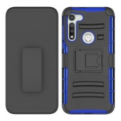Holster Combo for Moto G Fast - Black/Blue