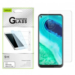 AIRIUM Tempered Glass for Moto G Fast - 10 in a Pack