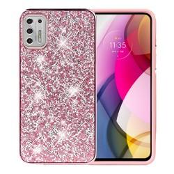 Deluxe Diamond Bling Glitter Case For Moto G Stylus 2021 - Pink