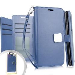 Deluxe Wallet w/ Blister for MOTO G STYLUS - BLUE