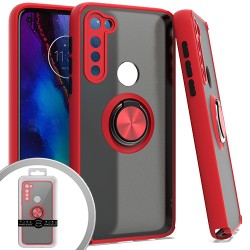 Magnet Ring Stand 3 for MOTO G STYLUS - RED