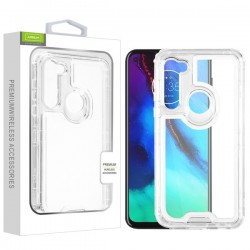 AIRIUM Hybrid Protector Cover for MOTO G STYLUS - Transparent Clear/Transparent Clear