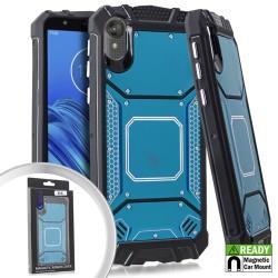 Metal Jacket Blue For Motorola E6