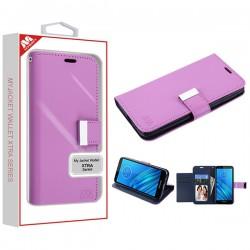 Purple/Dark Blue MyJacket Wallet Xtra Series (GE034) -WP For Motorola E6
