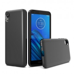 TPU case, Black For Motorola E6