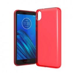 TPU case, Red For Motorola E6