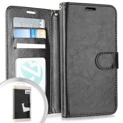 Wallet Pouch 3 Black For Motorola E6