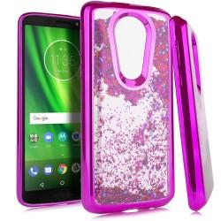 Chrome Glitter Motion Case for Motorola moto e5 plus