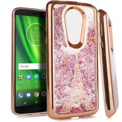 Chrome Glitter Motion Case for Motorola moto e5 plus #33RG