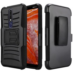 Armor Holster for Nokia 3.1 PLUS_BLACK