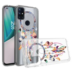 Design Transparent Bumper Hybrid Case for OnePlus Nord N10 5G - Dreams Come True