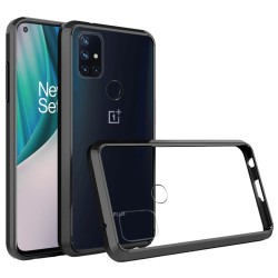 Transparent Hybrid Case for OnePlus Nord N10 5G - Black