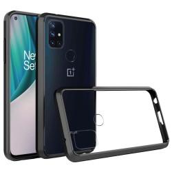 Transparent Hybrid Case for OnePlus Nord N10 5G - Black