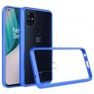 Transparent Hybrid Case for OnePlus Nord N10 5G - Blue