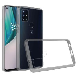 Transparent Hybrid Case for OnePlus Nord N10 5G - Clear