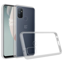 Transparent Hybrid Case for OnePlus Nord N100 - Clear