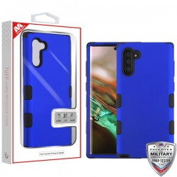 Titanium Dark Blue/Black TUFF Hybrid Protector Cover [Military-Grade Certified](with Package) For Samsung Note 10