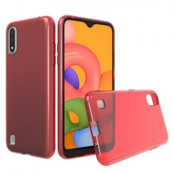 TPU CASE FOR SAMSUNG A01 RED