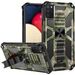 Machine Design Magnetic Kickstand Case Cover - Camo Green