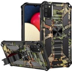 Machine Design Magnetic Kickstand Case Cover - Camo Jungle
