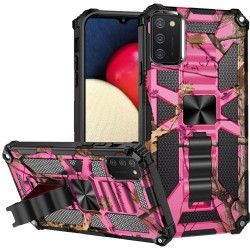 Machine Design Magnetic Kickstand Case Cover - Camo Pink