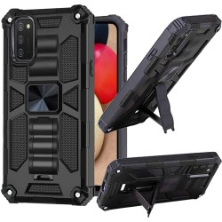 Machine Magnetic Kickstand Case Cover - Black