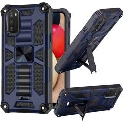 Machine Magnetic Kickstand Case Cover - Dark Blue