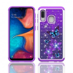 Hybrid Dazzling w/ Design, #062 For Samsung A10e