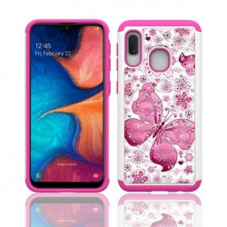 Hybrid Dazzling w/ Design, #065 For Samsung A10e
