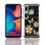 Hybrid Dazzling w/ Design, #070 For Samsung A10e