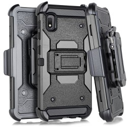 Heavy Duty Tactical Combo Black For Samsung A10e