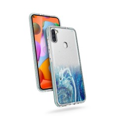 ZIZO DIVINE SERIES FOR GALAXY A11 - ARCTIC