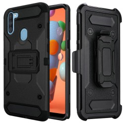 Heavy Duty Tactical Combo for Samsung A11 - Black