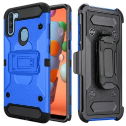 Heavy Duty Tactical Combo for Samsung A11 - Blue