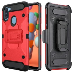 Heavy Duty Tactical Combo for Samsung A11 - Red