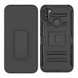 Holster Combo for Samsung A11- Black/Black
