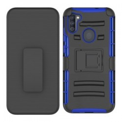 Holster Combo for Samsung A11- Black/Blue
