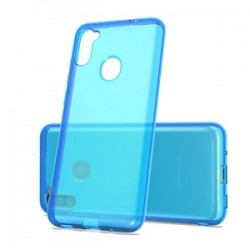 TPU CASE FOR SAMSUNG A11 - BLUE