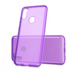 TPU CASE FOR SAMSUNG A11 - PURPLE